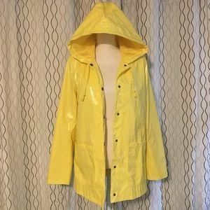 Xhilaration Yellow Raincoat Women's Size L